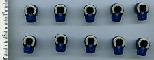 Star Wars LEGO x 10 Dark Blue Minifig, Headgear Hood Fur-lined Hoth Han Solo