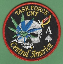 DEA CENTRAL AMERICA NARCOTICS TASK FORCE POLICE PATCH