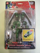 POWER RANGERS S.P.D. GREEN RANGER DELTA TRASFORMABILE