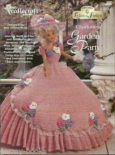 Charlotte's Garden Party Ladies of Fashion Crochet Pattern for Barbie Dolls NEW