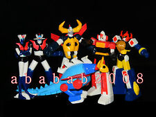 Bandai Super Robot Wars figure Part.3 Daimos Gaiking Daltanious Daltanias (6 Pcs
