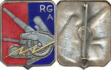 Réserve Générale d'Artillerie, bleu foncé à droite, pastille ajourée, D.Ber.Dép.