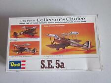 Vintage 1:72 Revell Collector's Choice S.E. 5a Airplane Complete