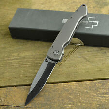 Boker Plus Anti-MC Ceramic Blade Titanium Handle Framelock Knife 01BO035