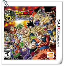 3DS Nintendo Games Dragon Ball Z: Extreme Butoden Bandai Namco Fighting