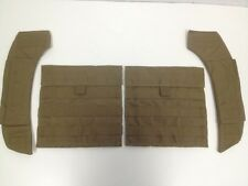 EAGLE INDUSTRIES COYOTE SIDE PLATE POCKET CARRIER AND SHOULDER PAD SET SPC NEW