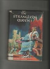 THE STRANGLED QUEEN by Maurice Druon (1956, Hardback) Scribner's