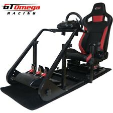 GT Omega ART Racing Simulator Cockpit RS6 for Logitech G27 Gaming chair seat