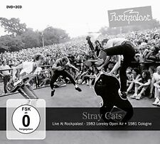 Live At Rockpalast - Stray Cats (2015, CD NIEUW)3 DISC SET
