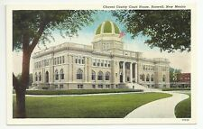Chaves County Court House Roswell New Mexico Unposted Vintage Postcard