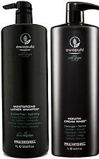 PAUL MITCHELL AWAPUHI WILD GINGER MOISTURIZING LATHER SHAMPOO+CONDITIONER 1 L