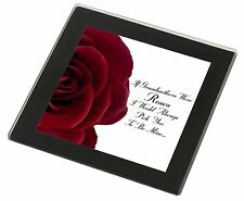 'If Grandmothers Were Roses' Black Rim Glass Coaster Animal Breed Gift, GRA-R5GC