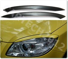 SKODA FABIA 5J (2007-2010) Headlights Eyebrows  ABS PLASTIC, tuning