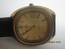 BULOVA  AUTOMATIC ONLY DATE  SWISS MADE ONE TIME SERVICING IS NEEDED