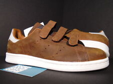 ADIDAS STAN SMITH CF DUSRUS NIGHT BROWN WHITE LEATHER B24537 NEW NMD BOOST NEW 9