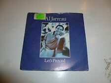 "AL JARREAU - Let's Pretend - 1984 UK 2-Track 7"" Vinyl Single"