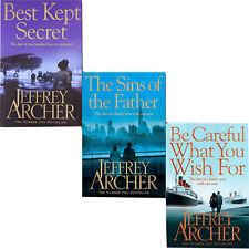 Jeffrey Archer Collection 3 Books Set Be Careful What You Wish For,Best Kept