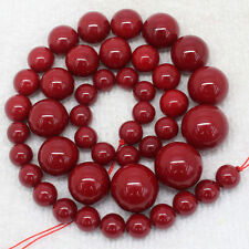 Huge New 8-16mm Red South Sea Shell Pearl Necklace 18''