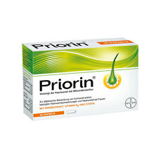 Bayer Priorin Anti Hair Loss Growth - 30 Capsules/Box - German Product