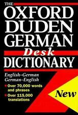 The Oxford-Duden German Desk Dictionary