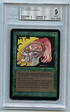 MTG Alpha Llanowar Elves Graded BGS 9.0 (9) Mint card Magic the Gathering WOTC