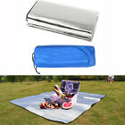 Outdoor Camping Picnic Sleeping Mattress Pad Waterproof Aluminum Foil EVA Mat