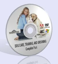 Dog Care, Training And Grooming Complete Pack! Audios, Guides, And More DVD