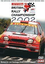 British Rally Championship - Official review 2002 (New DVD) Milner Dale Evans