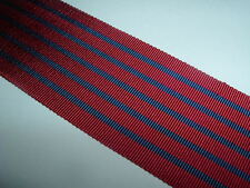 RIBBON-GOOD QUALITY OLD SILK/COTTON GEORGE MEDAL