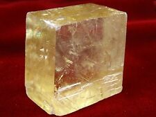 Optical Calcite Crystal - FREE FAST SHIPPING, Best Price, US SELLER, Top Quality