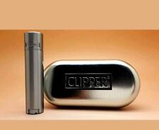 1-PCS-CLİPPER( MİNİ )CIGARETTE LIGHTERS METAL METALLİC CHROME CASE.FREE SHIPPING