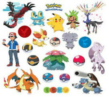 POKEMON XY wall stickers 24 decals Pikachu decor Pokeball Froakie Chespin Takara