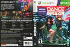 Dance Central XBOX 360 Game COMPLETE Requires Kinect Sensor Dancer Dancing Party