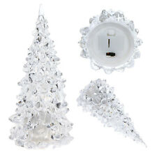 Icy Acrylic Christmas Tree LED Night Light Color Changing Decoration Lamp Gift