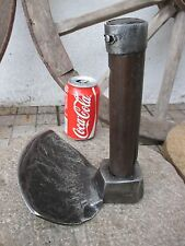 Antique Rare Tool Axe Adze Old Coopers Making Barrels Adz Wood Hoe Concave
