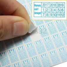 600x 2016 - 2018 Warranty Void If Damaged Protection Security Label Sticker Seal