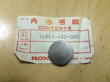 """Original Honda CB 750 ,CB 900 ,CB 1000 ,CB 1100 ,CBX """"Shim (335)"""" 14943-422-000"""
