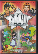 FAIRY TALE POLICE DEPARTMENT CASE FILE 3 DVD FTPD KIDS 2 EPISODES