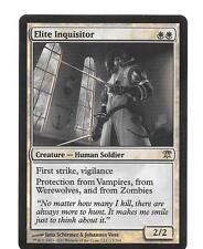 INQUISIDOR DE ELITE FOIL Elite Inquisitor Ingles MTG Mint innistrad x1 Magic