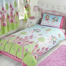 FAIRY PRINCESS 'SLEEPING' SINGLE DUVET COVER SET NEW GIRLS BEDROOM