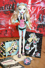 Lagoona Blue Basic Puppe Doll Monster High 1. Serie 1st Wave TOP +  Karten