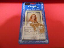 Saint Dymphna Chaplet (6 mm faceted glass beads)