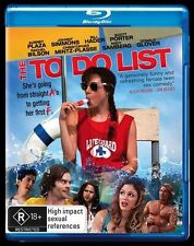 The To Do List (Blu-ray) Signed by Aubrey Plaza (from Parks and Rec)