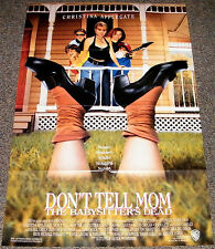 DON'T TELL MOM THE BABYSITTER'S DEAD 1991 ORIGINAL 27x40 MOVIE POSTER! COMEDY!