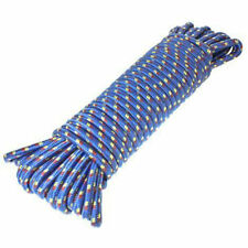 12mm x 30m strong heavy duty braided rope camping Utility towing car van