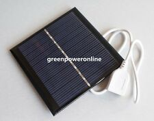 1W 5.5V 181mA Mini Solar Panel Module System Solar Epoxy USB Charger DIY B012