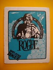 BEER Bar COASTER ~ 100% Pure ROGUE Brewing ~ Newport, OREGON ~ Mo Niemi History