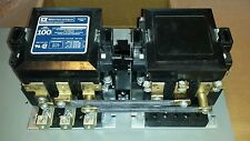 MC-0-274-12 TELEMECANIQUE 100 AMP 3 PHASE 120V ONAN TRANSFER SWITCH CONTACTOR
