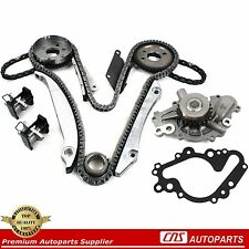 02-07 CHRYSLER DODGE 2.7L 2700 167 V6 ENGINE TIMING CHAIN KIT + WATER PUMP EER