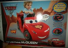 FISHER PRICE POWER WHEELS DISNEY PIXAR CARS 2 LIGHTNING MCQUEEN 2011 W2603 *NEW*